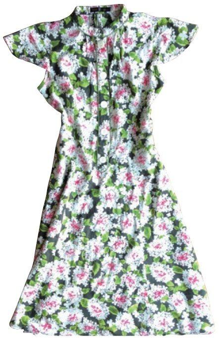 繪里沙會依個人體型選擇衣服,手臂顯粗的小洋裝不適合。 圖/幸福文化提供