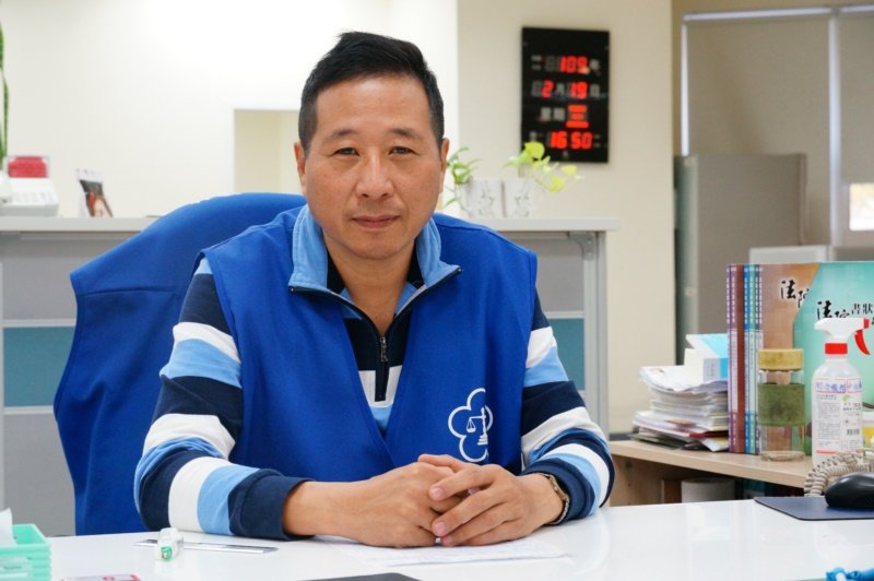 劉耿志認為退休後就是要「動」,不管是運動還是參加活動。 圖/林伯驊 攝影