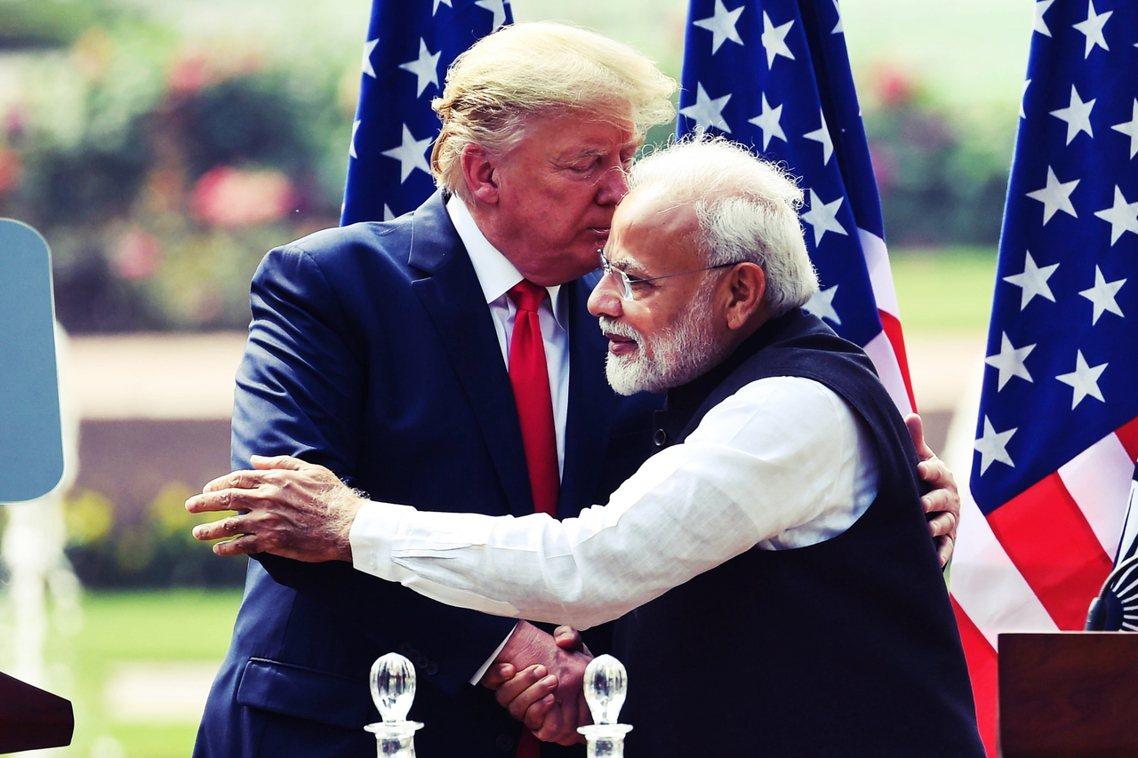 「你很難想像一個比印度未來更美好的地方,尤其是在總理莫迪您的領導之下!」 圖/法...