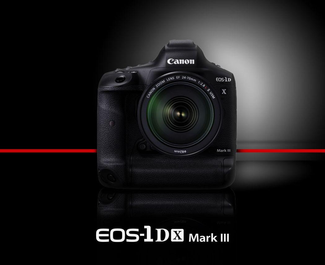 Canon全片幅機皇 EOS-1D X Mark III在台開賣。 台灣佳能資訊...
