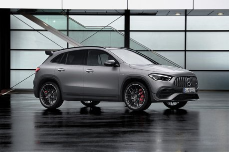 請叫他「性能休旅」 第二代Mercedes-AMG GLA 45 4MATIC+狂野登場!