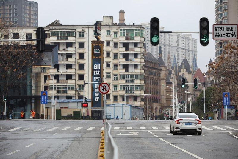 在武漢,遭到疫情衝擊的製造業當中,最受矚目的是汽車製造業。 圖/路透社
