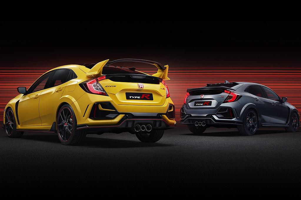 都有賽道版限量了!美國還覬覦歐規Honda Civic Type R Sport Line的尾翼