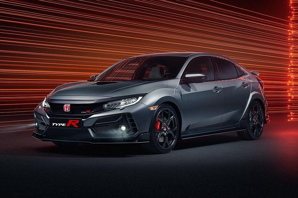 Honda發言人提到Honda Civic Type R標準版與Sport Li...
