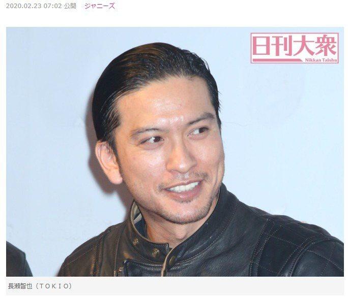 長瀨智也被爆2021年春天退出傑尼斯。圖/擷自「日刊大眾」