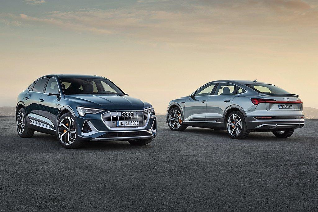 未來Audi還有e-tron Sportback、e-tron S性能版等衍生電...