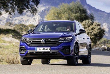 全新Volkswagen Touareg R登場 性能R車系終於有了電能動力!