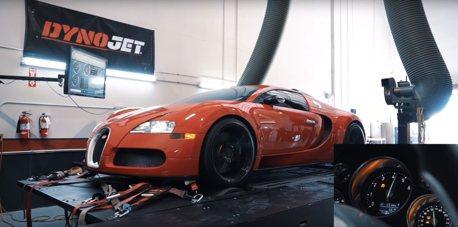 影/車齡12年的Bugatti Veyron還具備1001匹馬力的實力嗎?