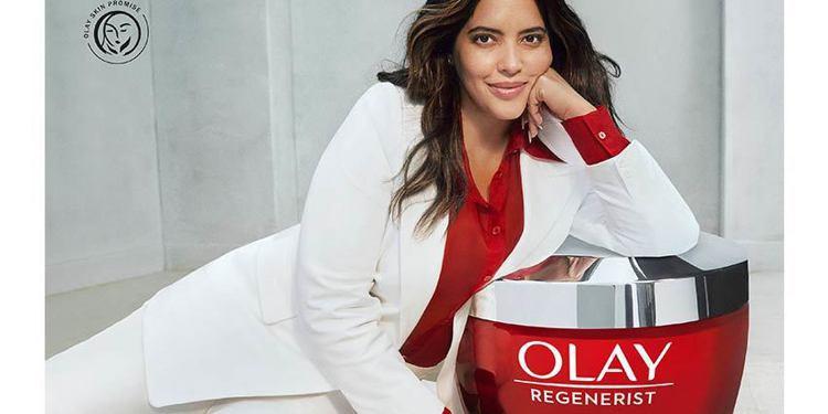 OLAY宣布啟動「廣告片不再修圖」的計畫。圖/摘自OLAY官網