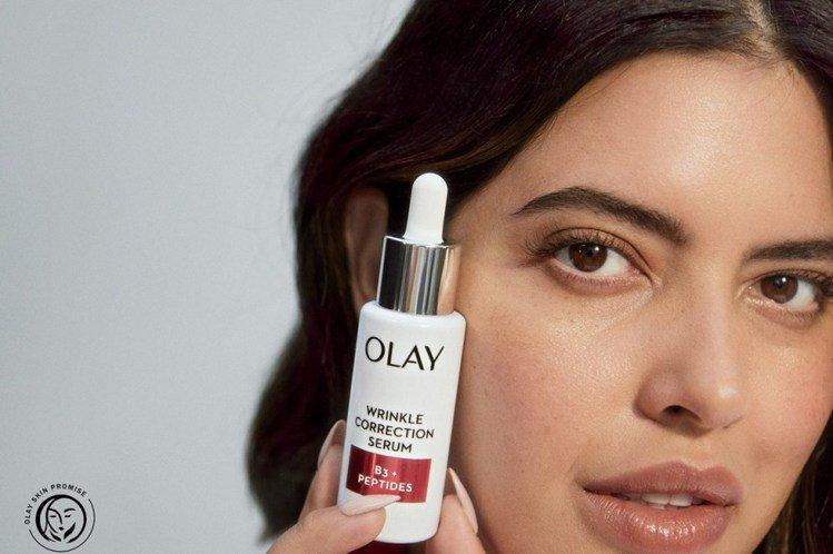 未來只要在OLAY廣告片上,看到「Olay Skin Promise」Logo,...
