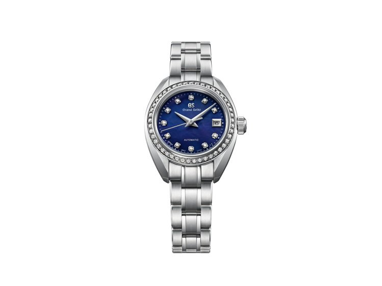 Grand Seiko 60周年限定STGK015腕表,不鏽鋼表殼、表鍊搭配珍珠...