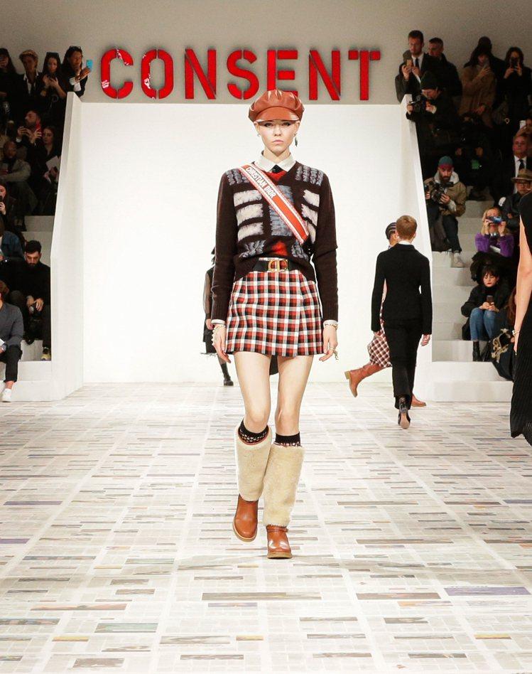 本季的服裝輪廓都是大家熟知的Maria Grazia Chiuri作品元素。圖/...