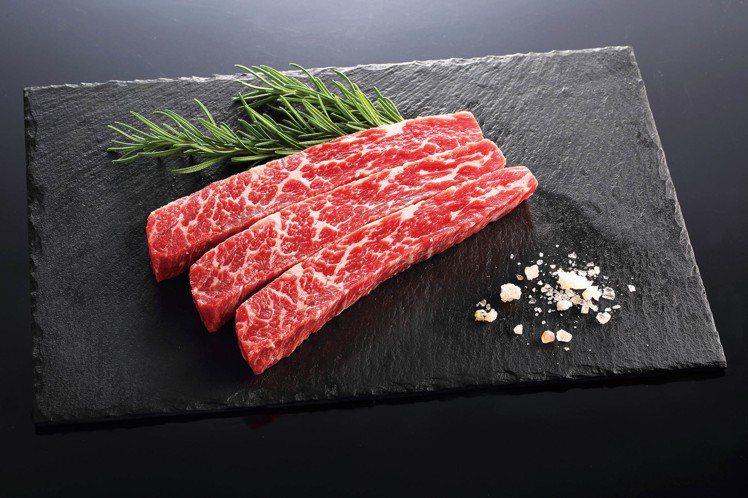 澳洲黑牛牛小排原價每盒799元,會員價399元。圖/SOGO提供