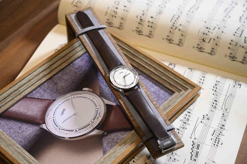Oris,Art Blakey爵士限量腕表,精鋼,38毫米,自動上鍊機芯,時間顯示,限量1,000只,60,000元。圖 / ORIS提供。