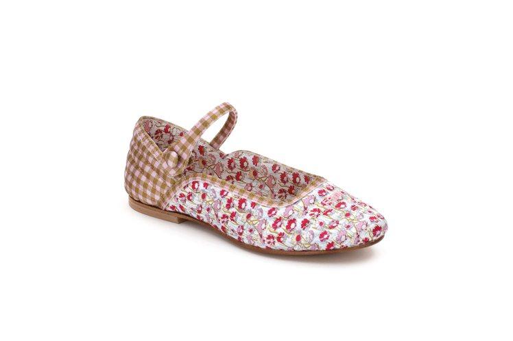粉紅色Colibri芭蕾舞平底女童鞋