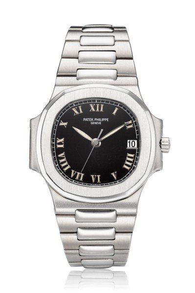 百達翡麗編號3800/1金鷹腕表,估價約106萬元起。圖/佳士得提供