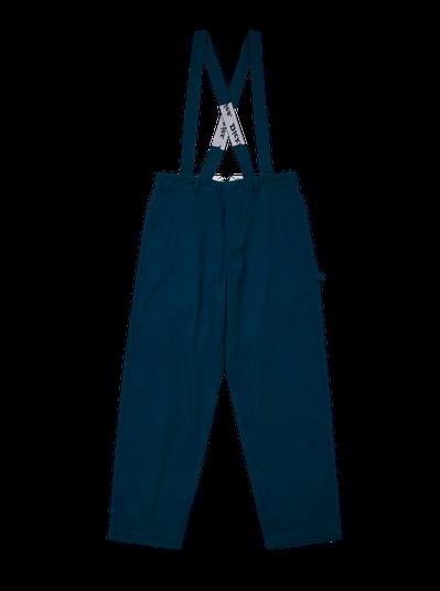 Dickies反光系列吊帶可拆式斜紋長褲2,380元。圖/Dickies提供