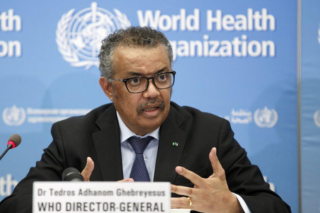 世界衛生組織秘書長譚德塞24日在瑞士記者會上證實確有可能全球大流行,但目前還未達...