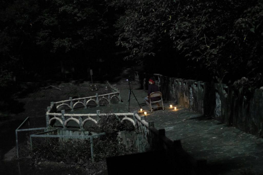 「女鬼橋」從台灣著名的大學靈異傳說啟發靈感。圖/傳影互動提供