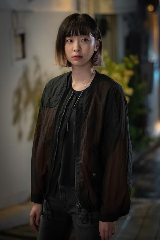 金多美在「梨泰院CLASS」劇中髮型別具特色。圖/Netflix提供
