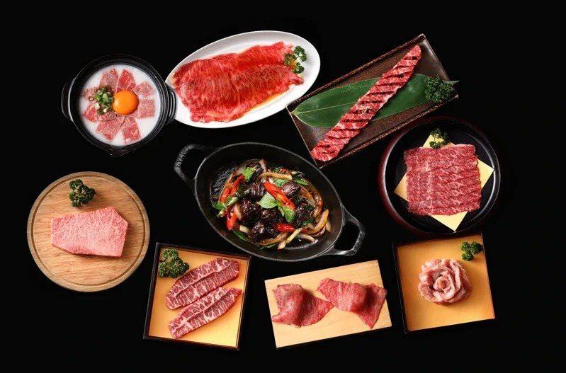 「YKNK club」店內提供了11個部位、切法的肉品選擇。圖/樂軒提供