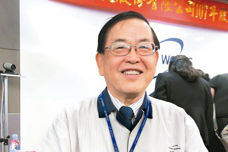 圖為合晶董事長焦平海。 (本報系資料庫)