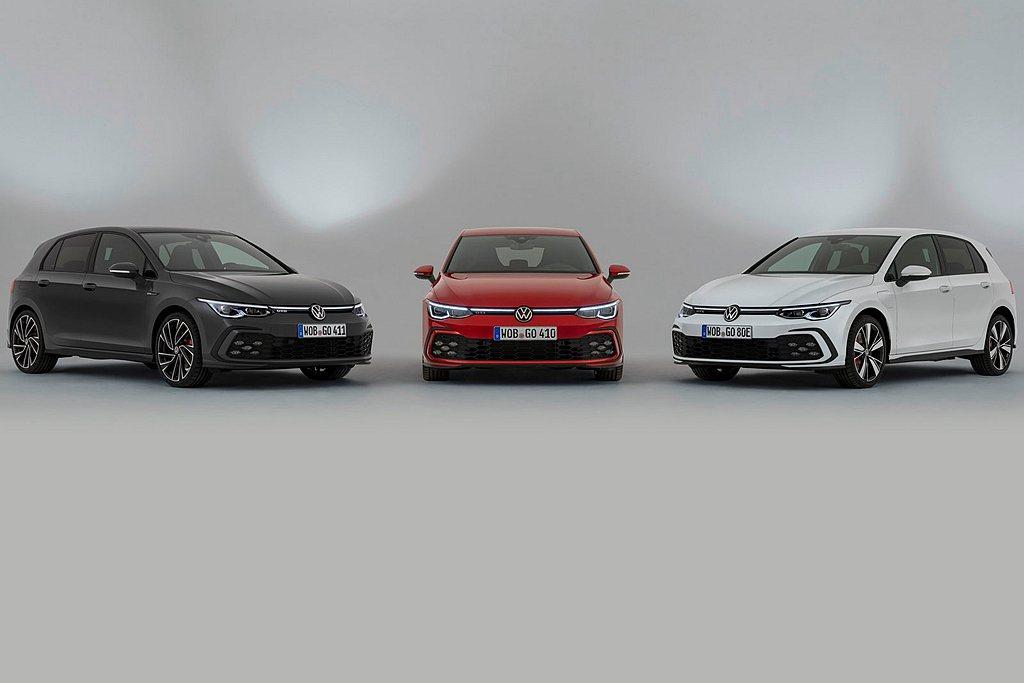 三種福斯Golf性能車型、三種市場面向、三種動力設定,但都源自相同的設計理念。 ...