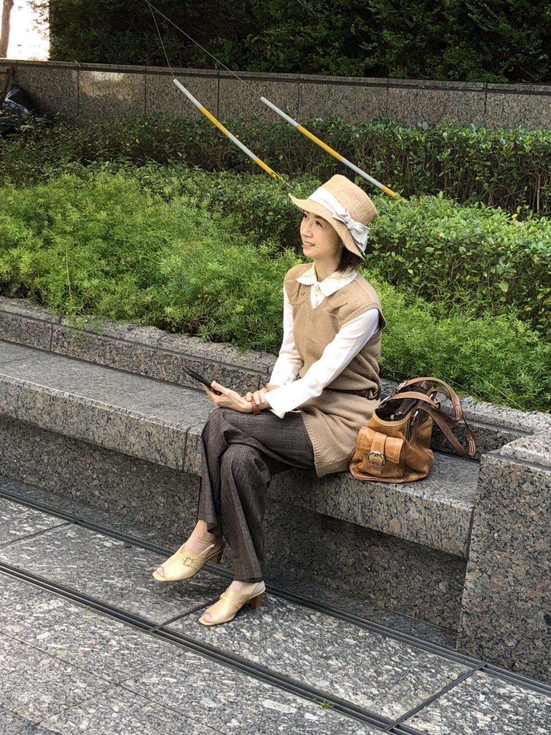 在一次徵選活動中,吳沛穎以為是志工活動就去報名,沒想到「不小心」轉職成素人模特兒...