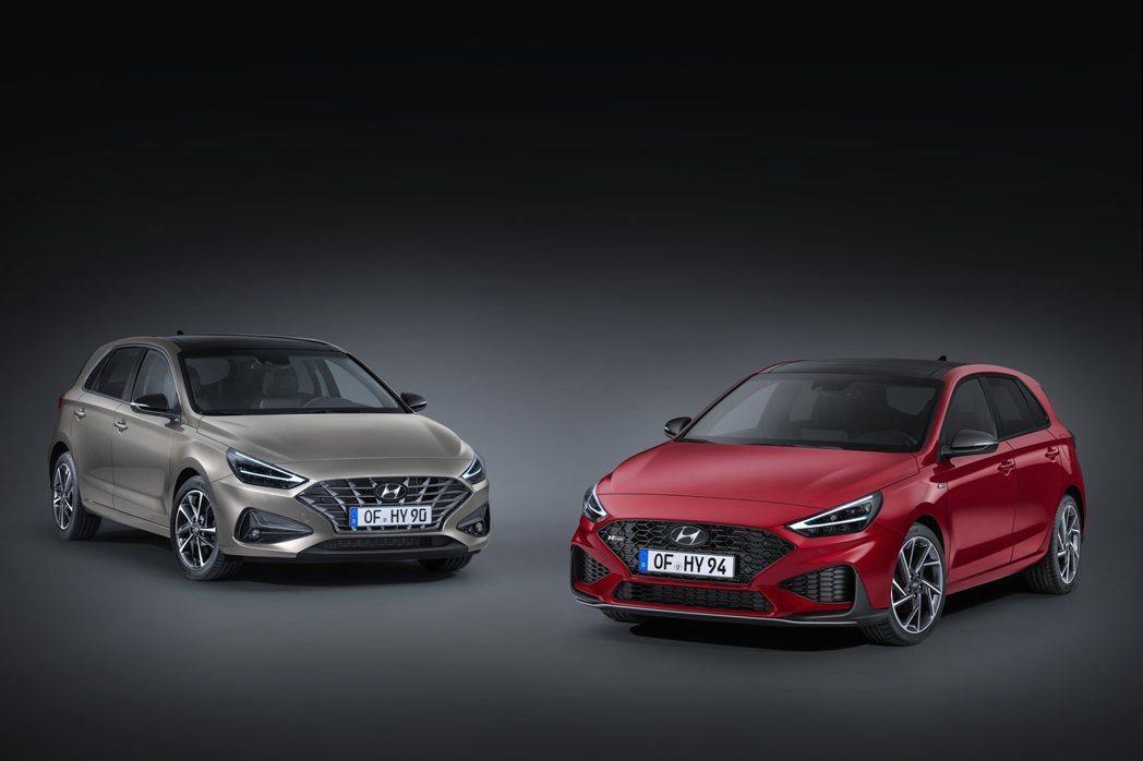 小改款Hyundai i30將於25日在捷克廠正式投產。 摘自Hyundai