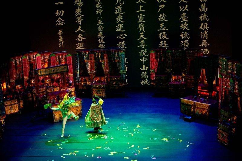 邱坤良作品《淨.水》。 圖/臺中國家歌劇院