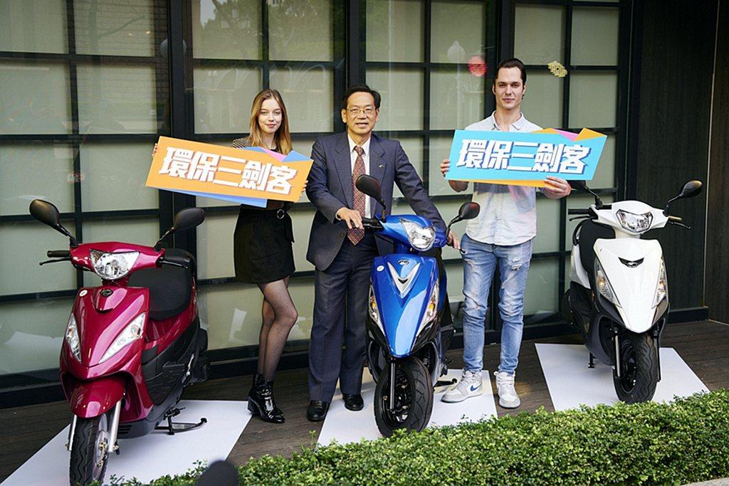 台灣機車銷售於2月份回穩,光陽仍穩坐銷售冠軍。 圖/KYMCO提供