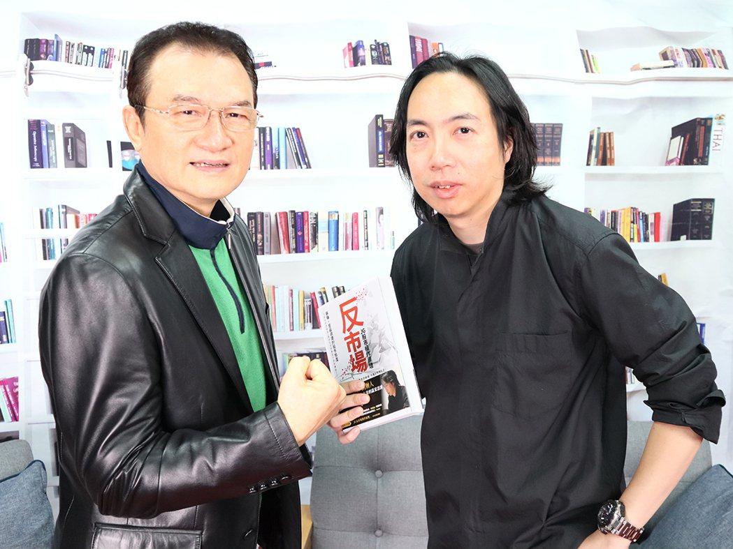 理財周刊發行人洪寶山(左)、JG(右)