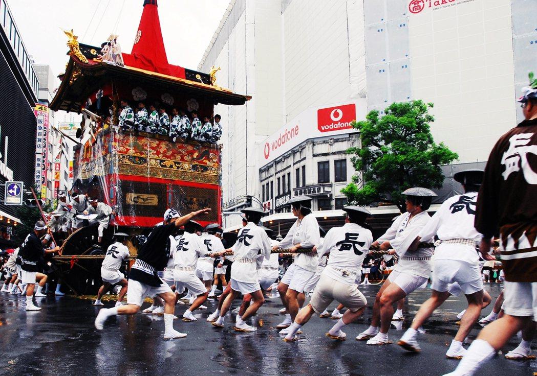 圖為京都祇園祭。祇園祭的起源,本來就是因為「傳染病」。 圖/美聯社