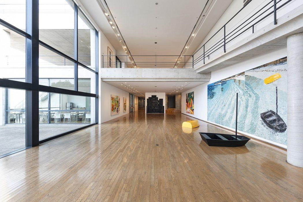 進入美術館的正廳(照片取自官網)
