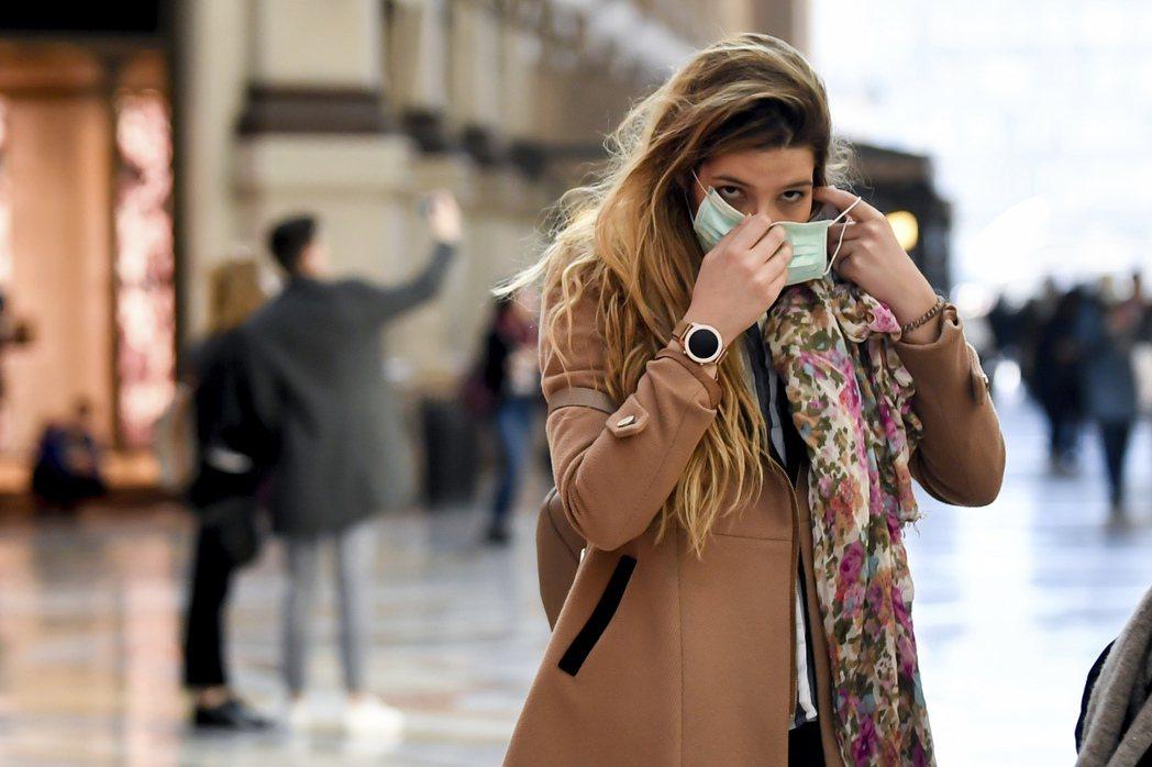 新冠肺炎疫情升溫,美股繼續走低。 美聯社