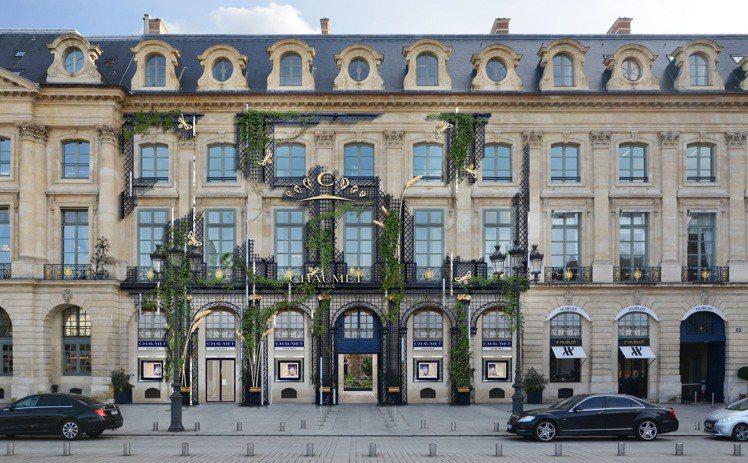 位於巴黎凡登廣場12號的CHAUMET總店經過一年修繕,將於2020年2月29日...