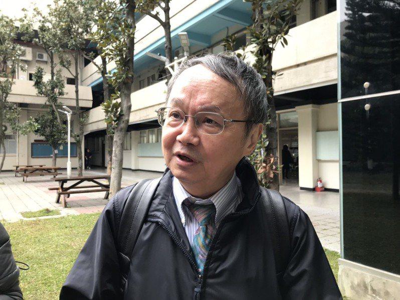 台科大副校長莊榮輝。記者潘乃欣/攝影