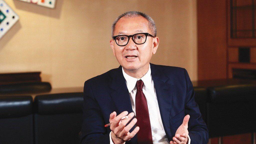 國巨董事長陳泰銘。報系資料照