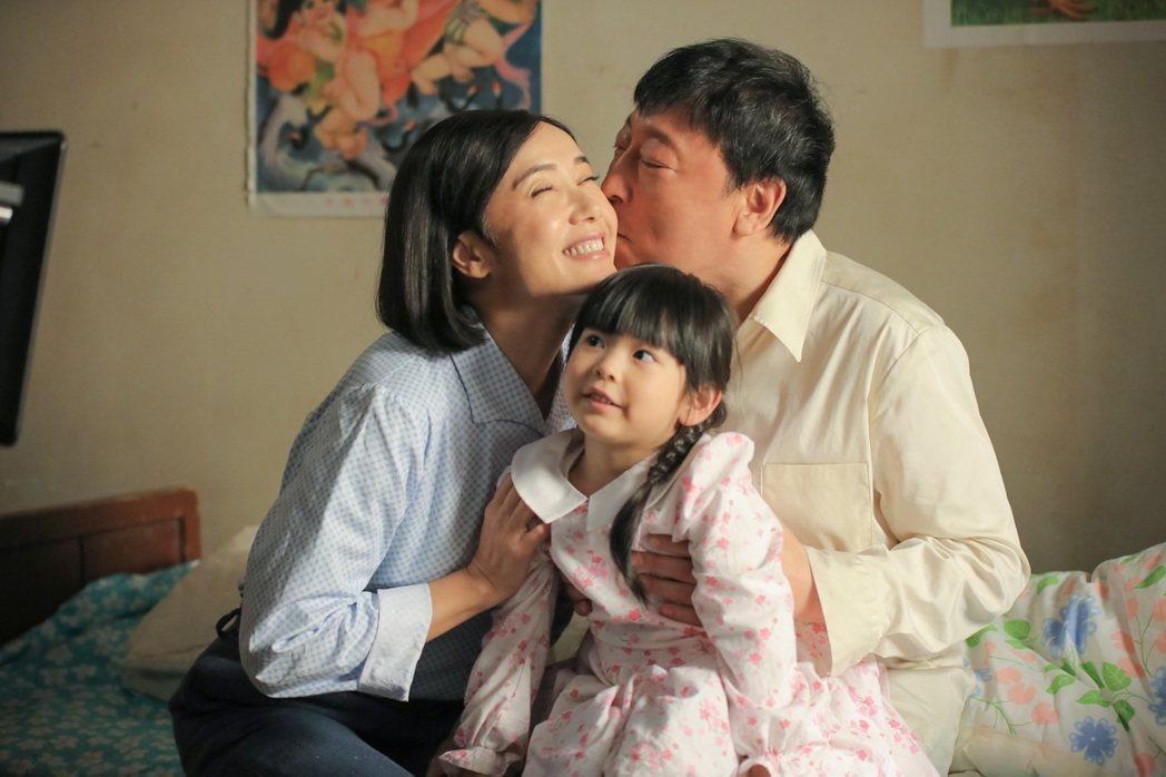 倪大紅(右)和蔣雯麗演夫妻  圖/緯來育樂台提供