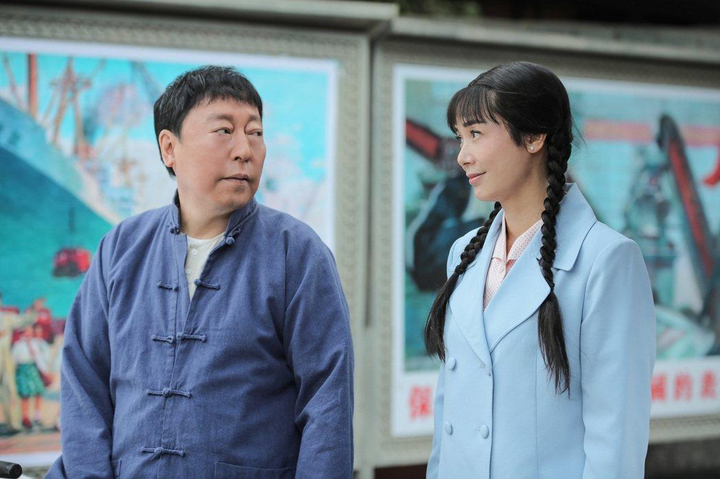 倪大紅(左)和蔣雯麗演夫妻  圖/緯來育樂台提供