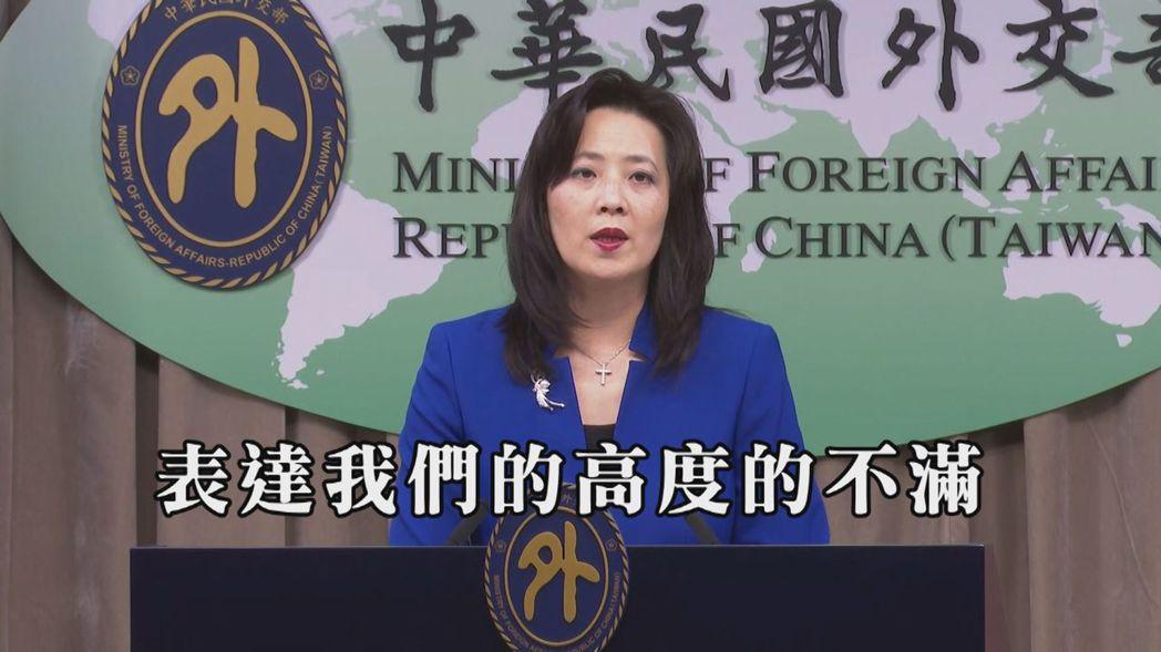 外交部發言人歐江安表示,對於義大利將台灣列在中國疫區,外交部表達高度的不滿跟嚴正...