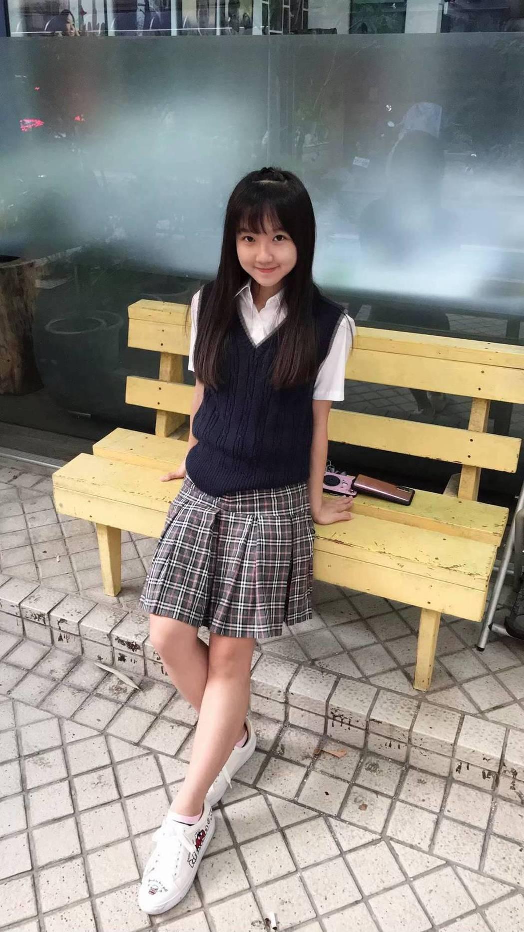 當年的小童星樂樂如今已是美少女將參加高中會考  圖/三立提供