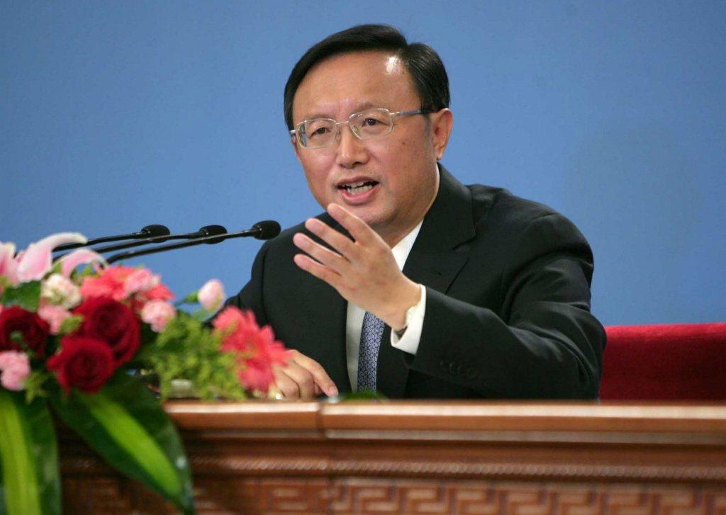 中共中央外事工作委員會辦公室主任楊潔篪。取自央視,本報資料照片