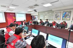 新竹市流行疫情中心一級開設 市府上緊發條防疫