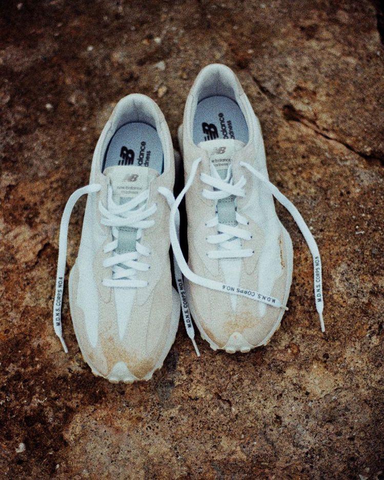 男星余文樂自創品牌Madness將與New Balance聯名,推出全新跑鞋,引...