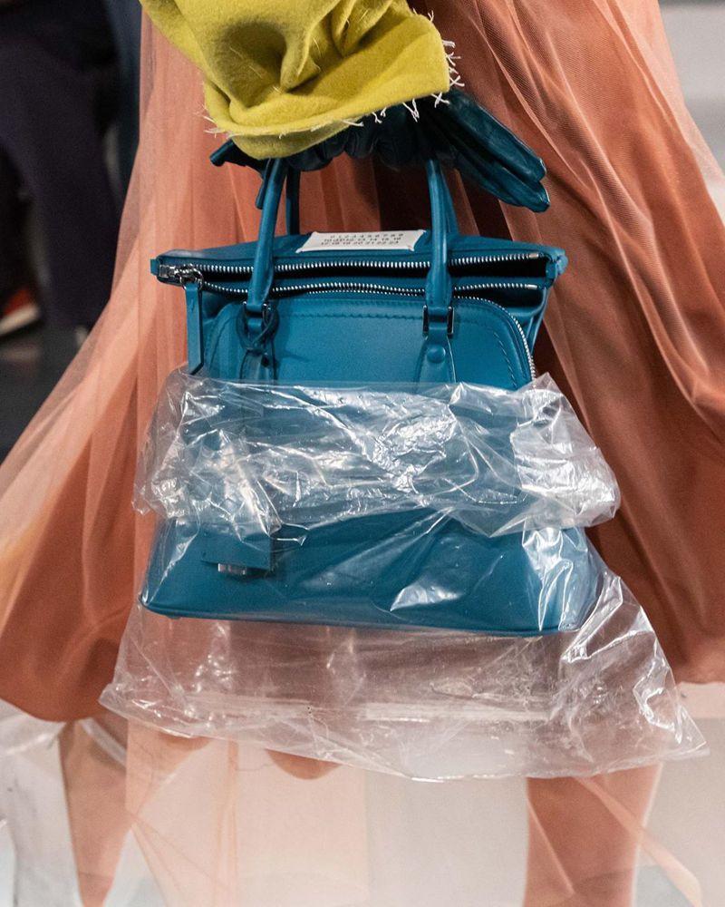 巴黎時裝周/Maison Margiela的5AC塑膠袋包好靚  KENZO浪漫公路旅行