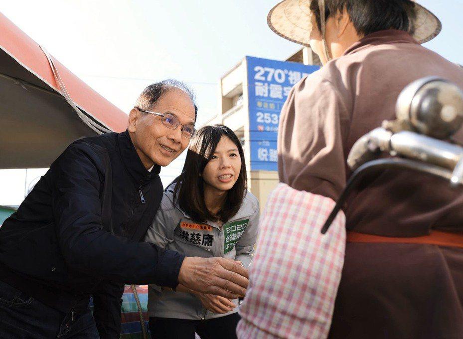 洪慈庸回應出任立法院有給職顧問,不忘初衷為台灣付出。圖/洪慈庸提供