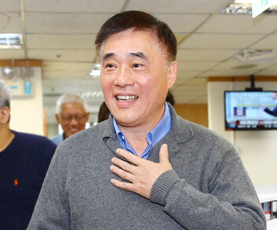 國民黨主席補選候選人郝龍斌。圖/聯合報系資料照片