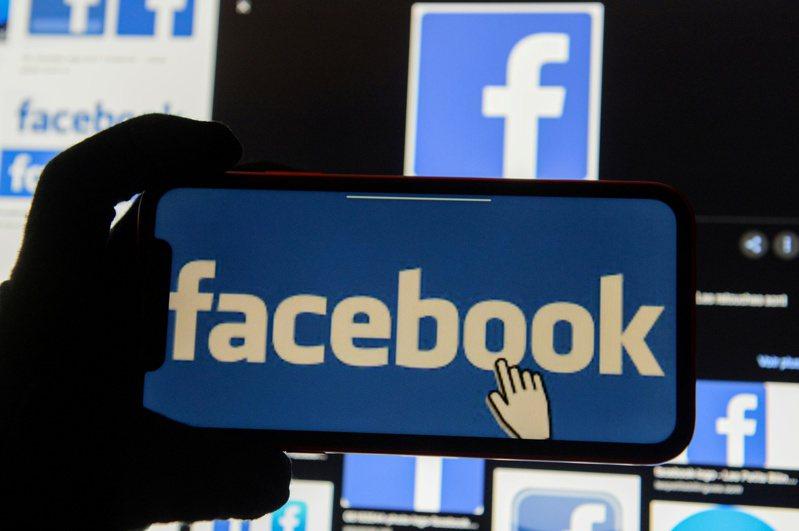 臉書公司示意圖。路透社