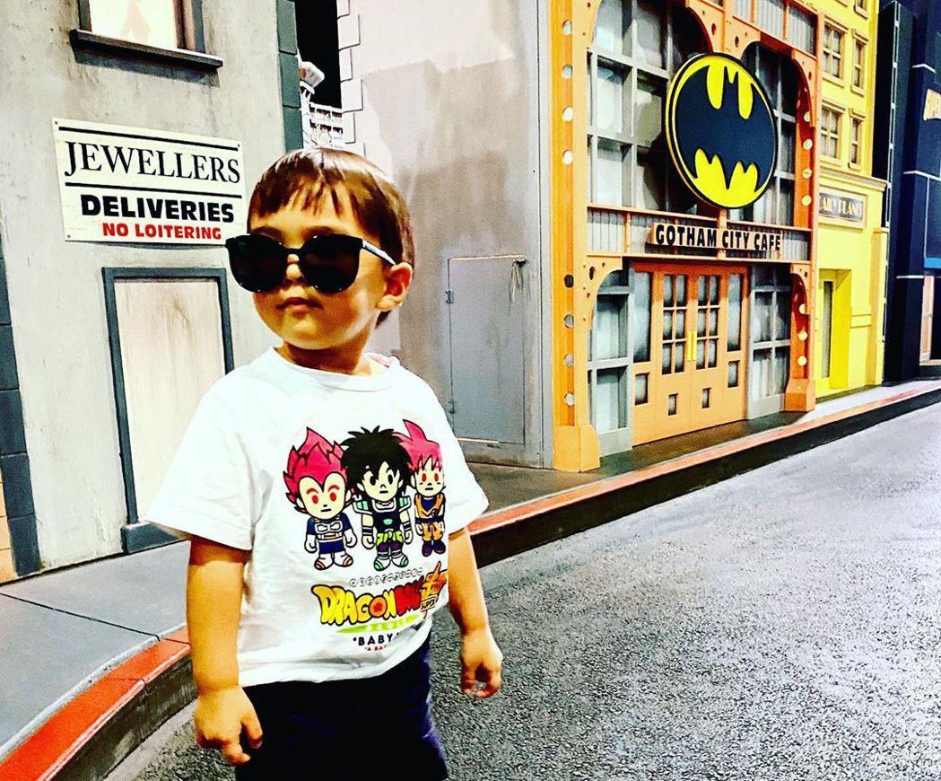 周杰倫2歲兒Romeo近況。圖/擷自instagram。